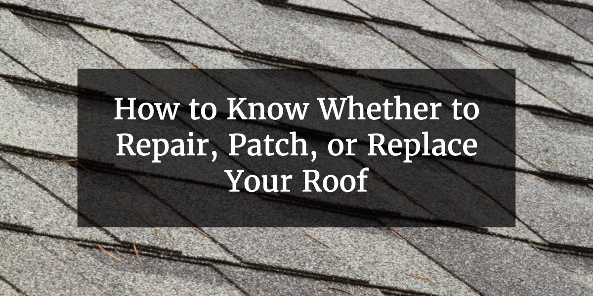 How To Know Whether To Repair Patch Or Replace Your Roof   Proformance  Roofing
