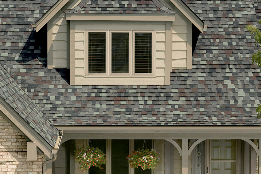 MATCHING SIDING WITH ROOFING
