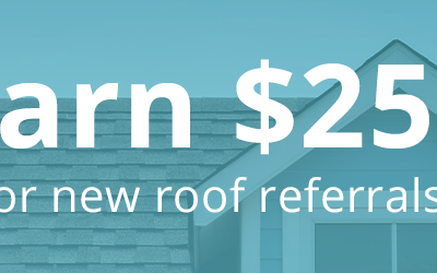Earn $250 with the Proformance New Roof Referral Program